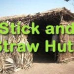 Build Stick and Straw Huts